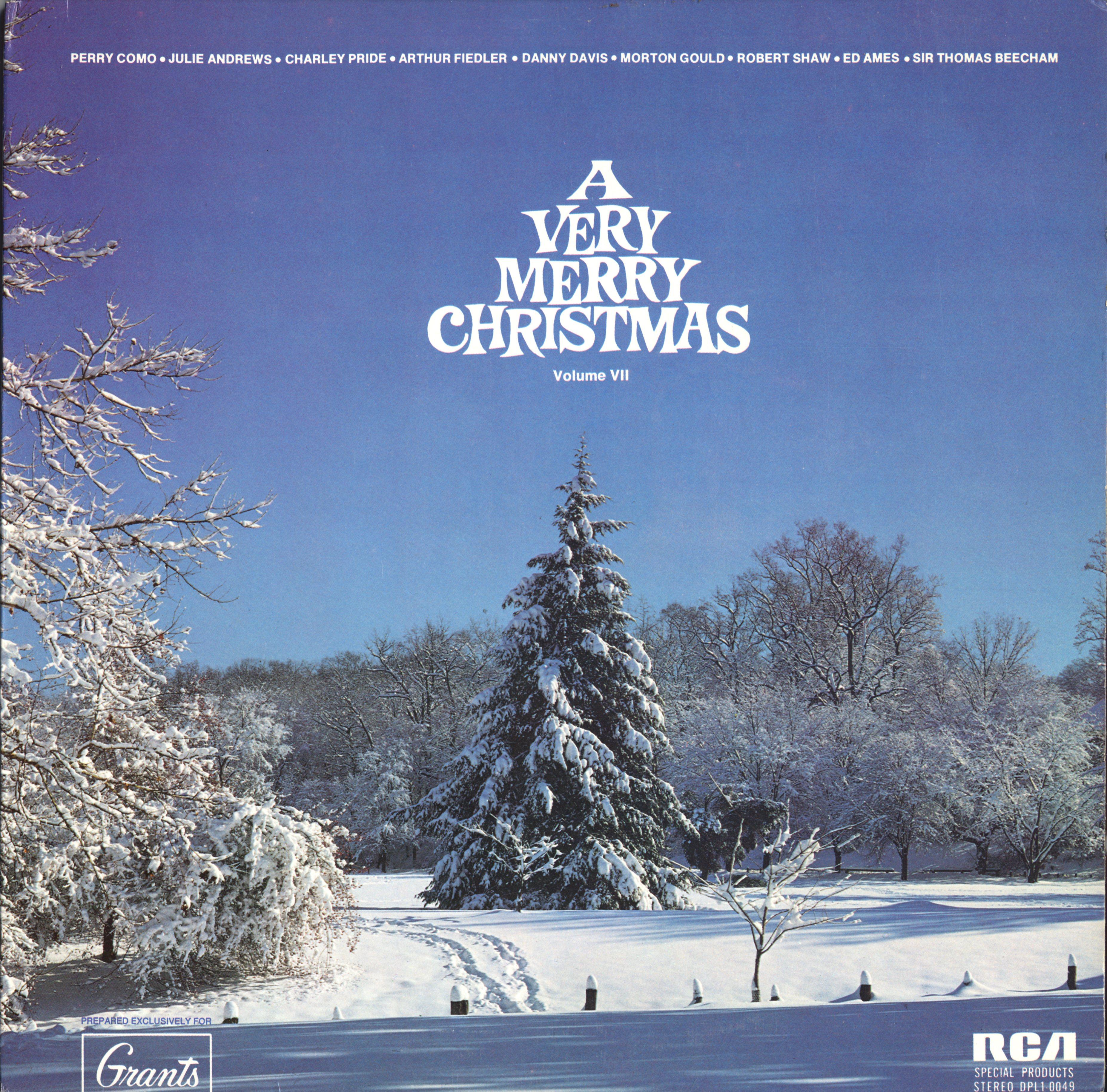 WT Grants Very Merry Christmas CD, Album, Record