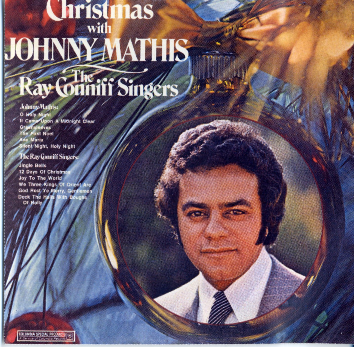 Johnny Mathis Christmas Album Christmas With Johnny Mathis